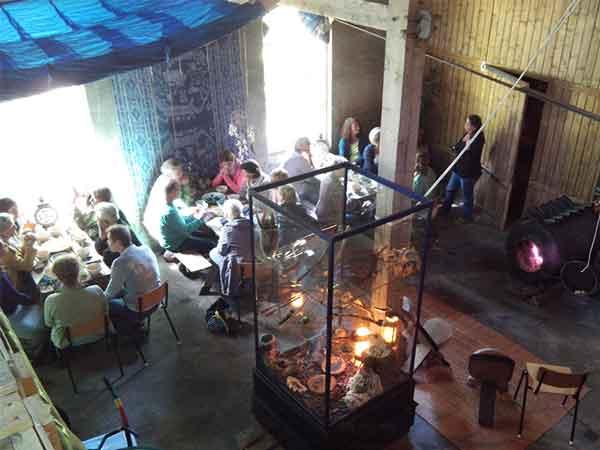 Bijeenkomst bij Wohali op de Delle