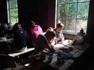 Workshop in de Delle van Wohali