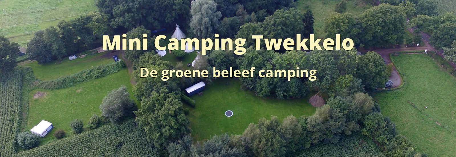 de tipi's van wohali staan op mini camping Twekkelo